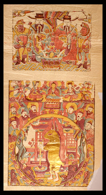 2 chinese folk religion scenes