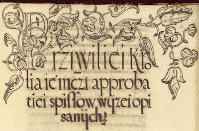 embellished manuscript detail