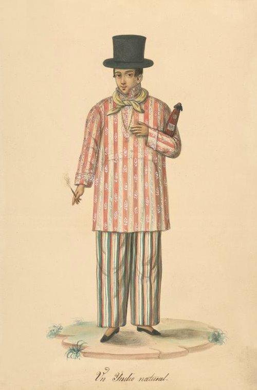 Male Filipino Costume. Un Yndio Natural  sc 1 st  BibliOdyssey & BibliOdyssey: Filipino Costumes