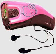 Taser Mp3 toy