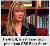 Heidi Gill Taser