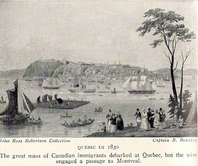 Quebec 1830 Guillet