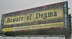 Muslim Dogma billboard