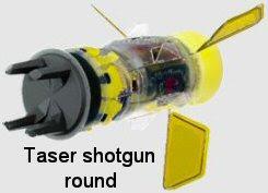 taser shotgun round