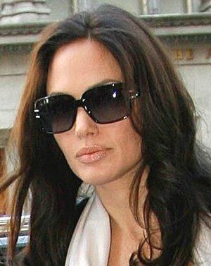 Angelina Jolie Sunglasses Famous Celebrity Women