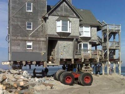 Rodanthe House Move