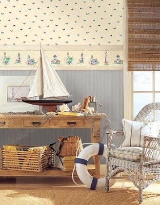 nautical wallpaper border