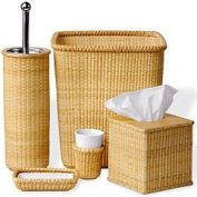 nantucket basket bath accessory set