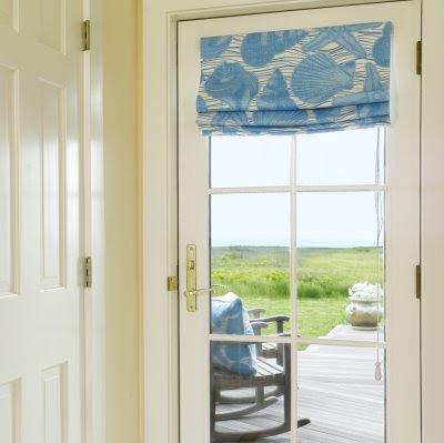 Seashell Inspired Window Treatments - Completely Coastal