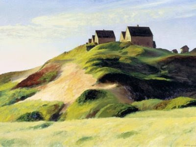 Edward Hopper Painting Truro Cape Cod