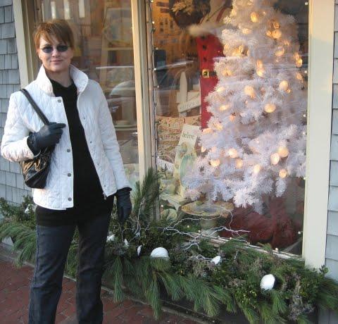 outside Christmas decoration