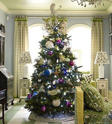 beach theme Christmas tree