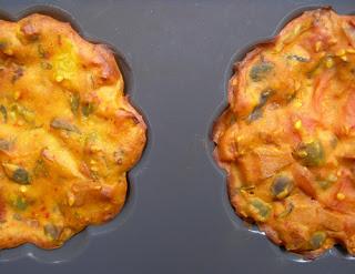 muffin verdure