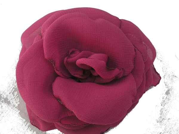 Rosa de gaza fuxia.
