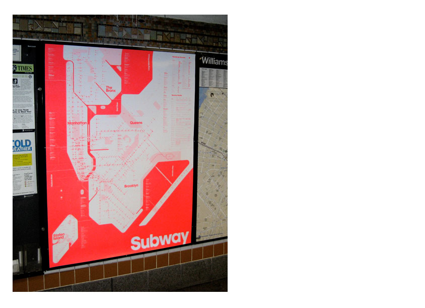 New York Subway Map Red.Peace Love Helvetica One Color Ny Subway Map