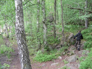 The Skatås trail was quite wet and very technical which I found challenging and fun,