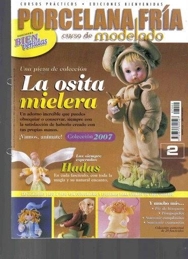 COLD PORCELAIN Porcelana Fria Curso Practico De Modelado 2006 #20 Magazine