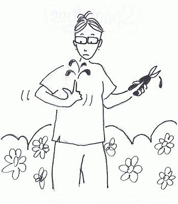 неосторожный садовник