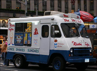 Ice Cream Truck Mr Softee Scott Wykoff...