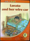Lorato and her Wire Car