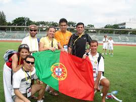 A Comitiva Nacional nos Jogos Mundiais em Banguecoque 2007