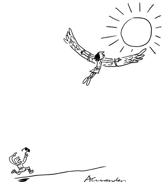 Alexander's Cartoon Blog: win win lose situation