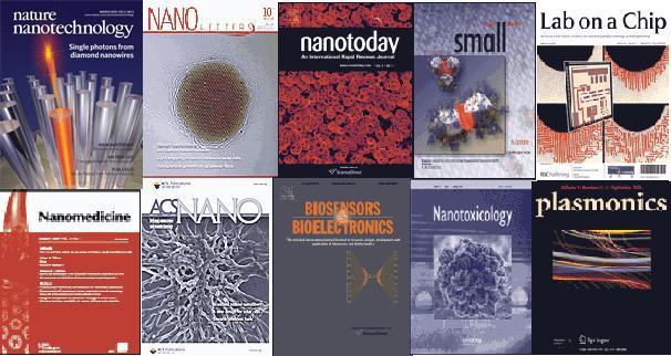 Nanotechnology: Top Ten Journals in Nanoscience & Nanotechnology
