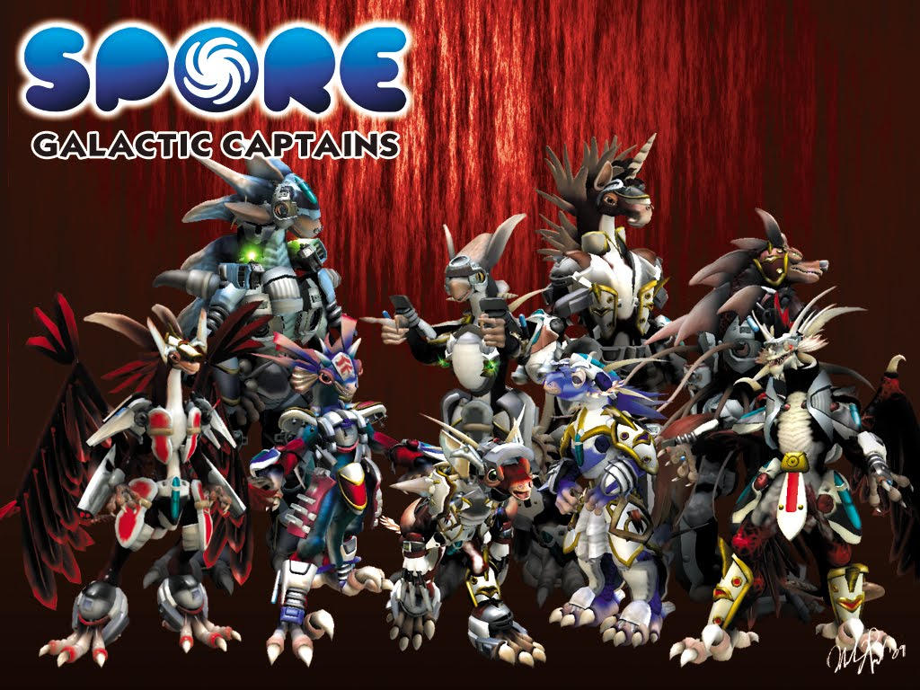 Spore galactic adventures wallpapers pc game database - Spore galactic adventures wallpaper ...