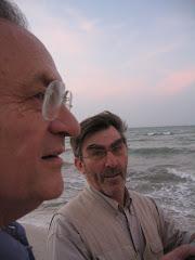 En la imagen de abajo: un perfil judío, Claude Belair - el fotógrafo - y la mar Caribe.