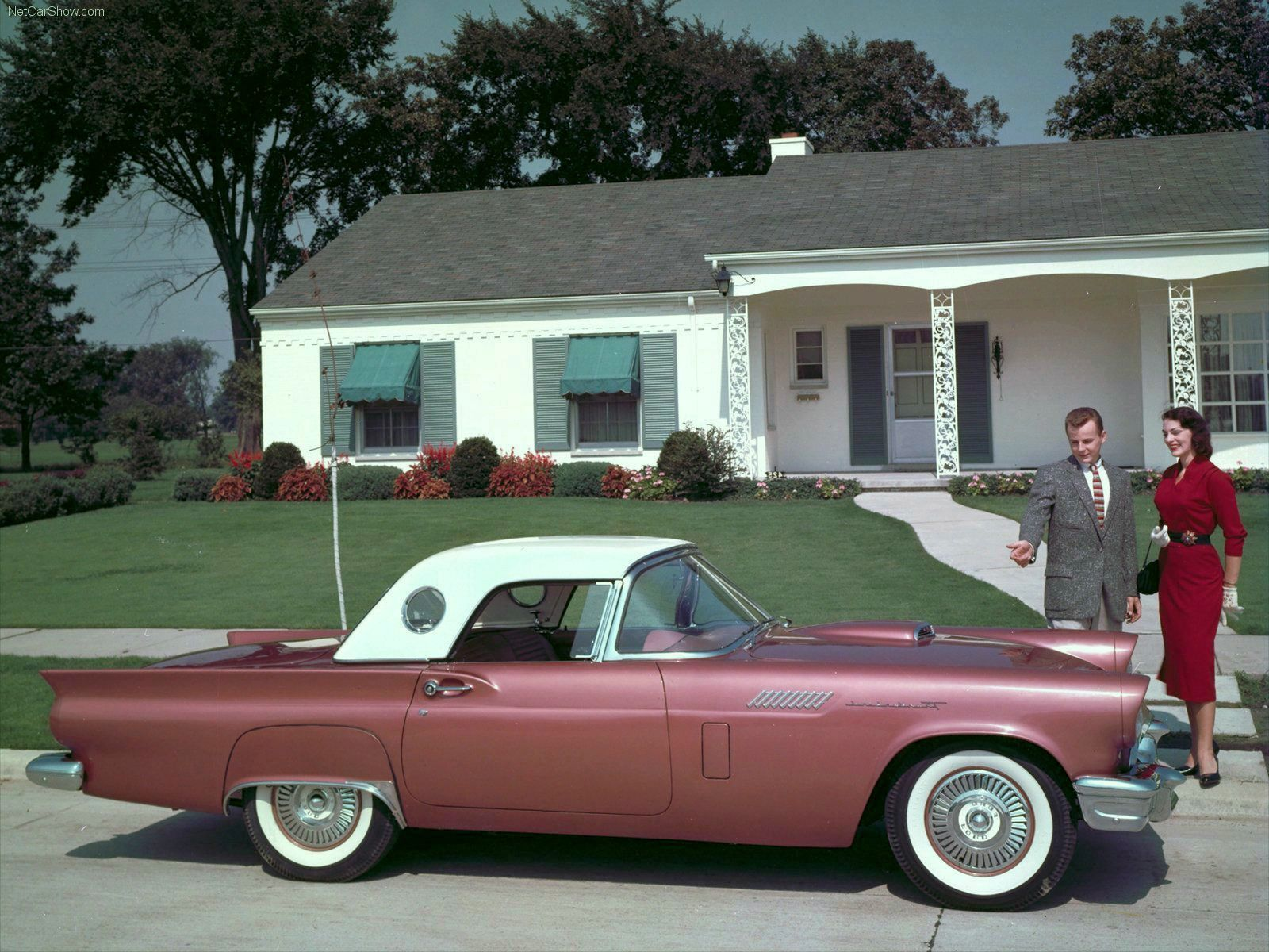 Transpress Nz  1957 Ford Thunderbird