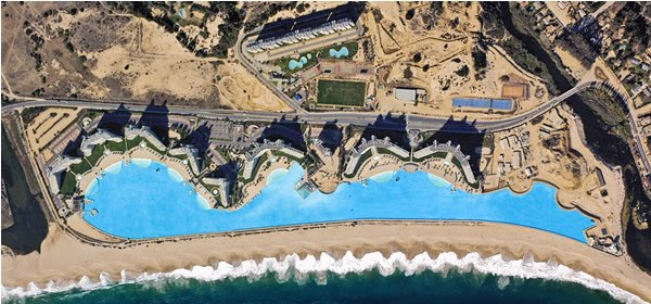 Exotic Places World S Largest Swimming Pool In Chile