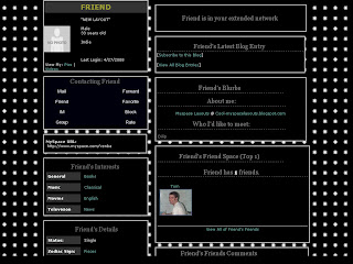 Black Layouts For Myspace 99