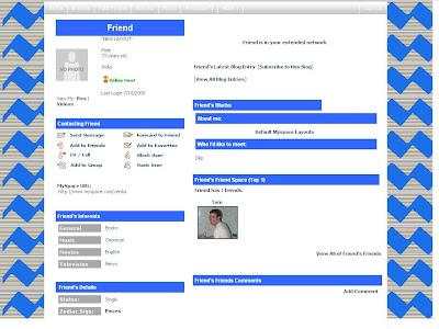 Default Myspace Layouts