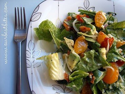 spinach poppy seed salad