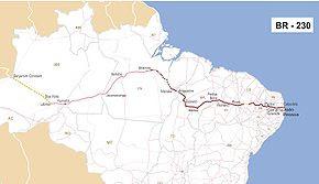 BR-104   É uma rodovia federal longitudinal do Brasil. Seu ponto inicial  fica na cidade de Macau (Rio Grande do Norte), e o fim, em Maceió (Alagoas). 2f79dda302