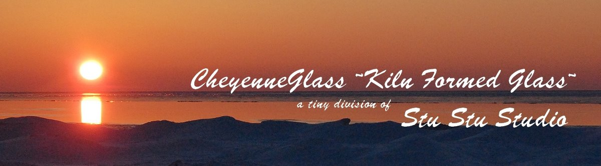 CheyenneGlass ~~ kiln fired glass~~