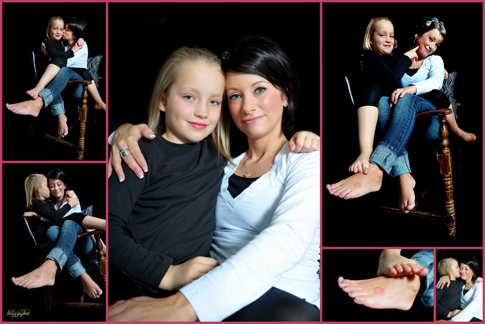 Bizzzeybee Photography: Sweet Mother / Daughter Interaction