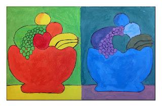 Ejercicios sobre el color imagenesola imagen y la educacion plastica y visual en la educac n - Todos los colores calidos ...