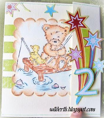 barn födelsedagskort Välkommen till Wildärtan: Födelsedagskort till ett barn barn födelsedagskort
