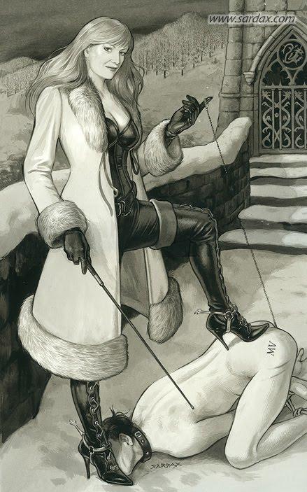госпожа наказывает раба клизмой - 14