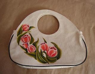 conseguir baratas 825a7 3cf9c Coatepec y sus alrededores-1: Bolsas pintadas a mano