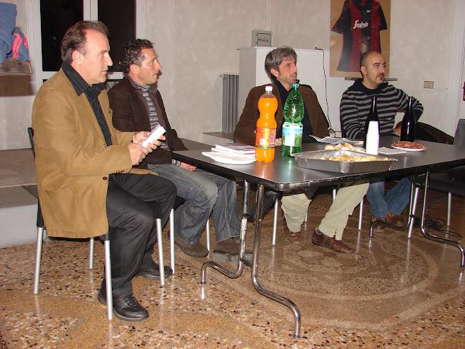"""Seconda Festa """"io Tifo Bologna"""" Il Mitico con il Grande Fabio Poli,con Molla e Morozzi.GRAZIE!"""