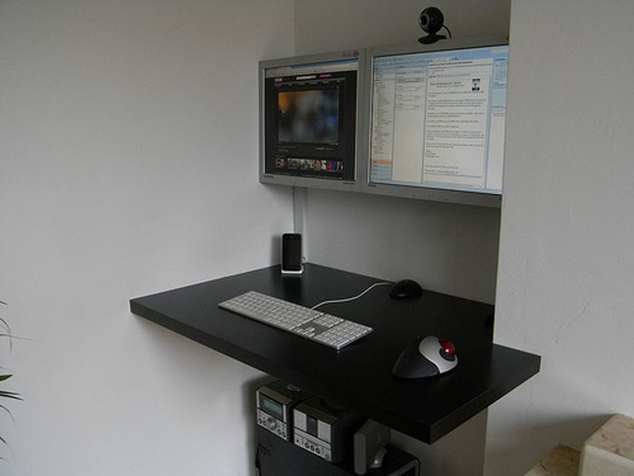40 Beautiful Neat And Simple Computer Desks Curious