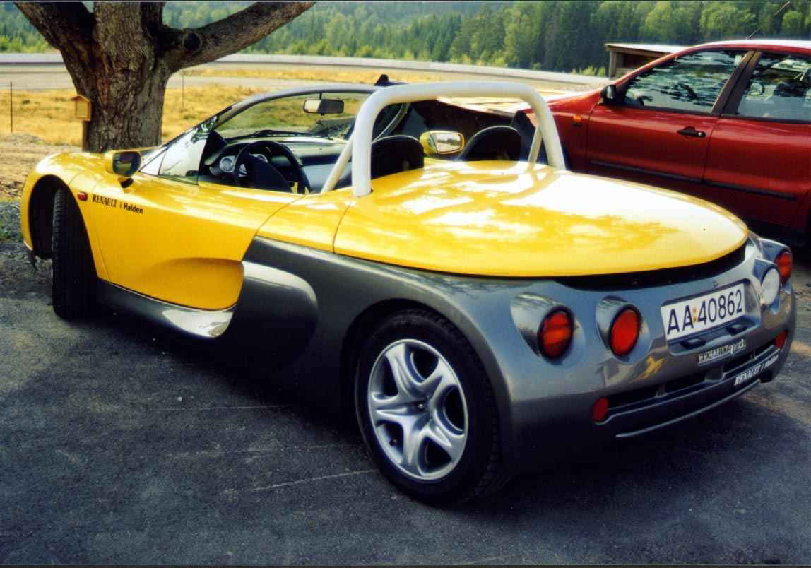 The Petrol Stop Renault Sport Spider