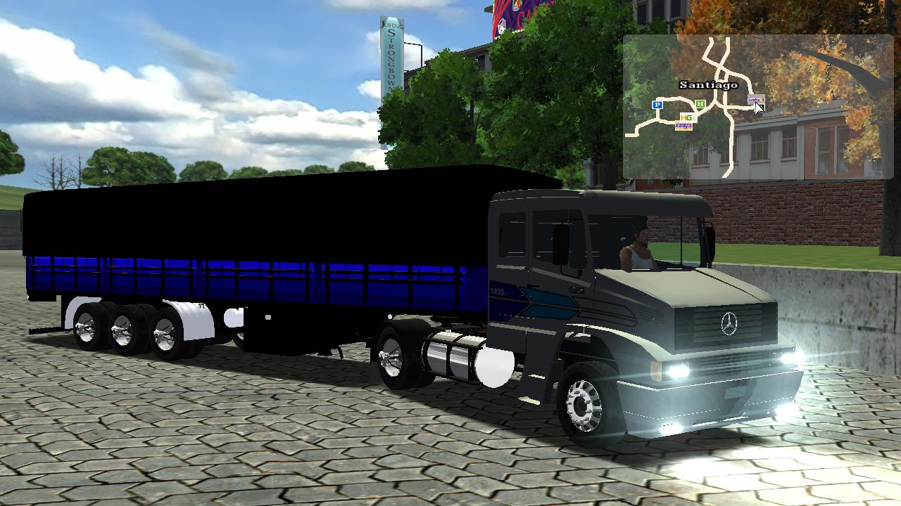 scania 124g para haulin