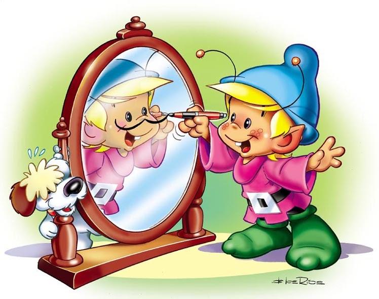 caballero del tablero: Ñomi en el espejo