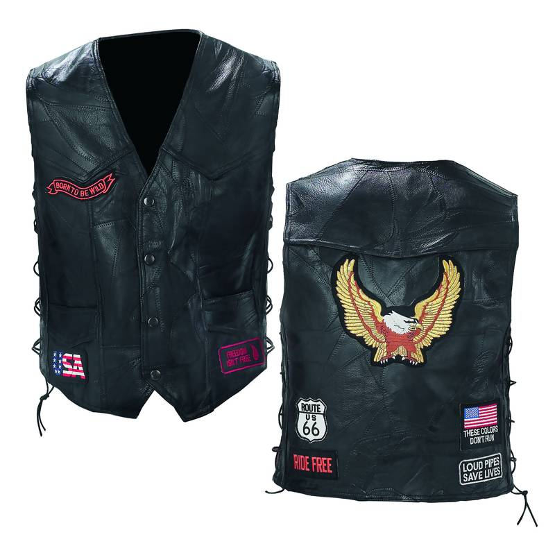 8633a6823 Anyways, if all else fails, there's nothing sexier/trashier than a good ol'  fashioned biker vest: ...
