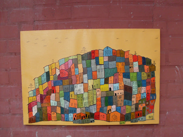 """Resultado de imagem para favela """"oleo sobre tela"""""""