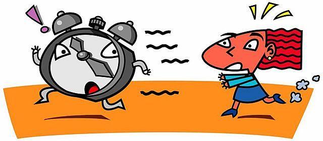 Nos vies ressemblent à un marathon permanent, à une course contre la montre  qui n en finit pas.