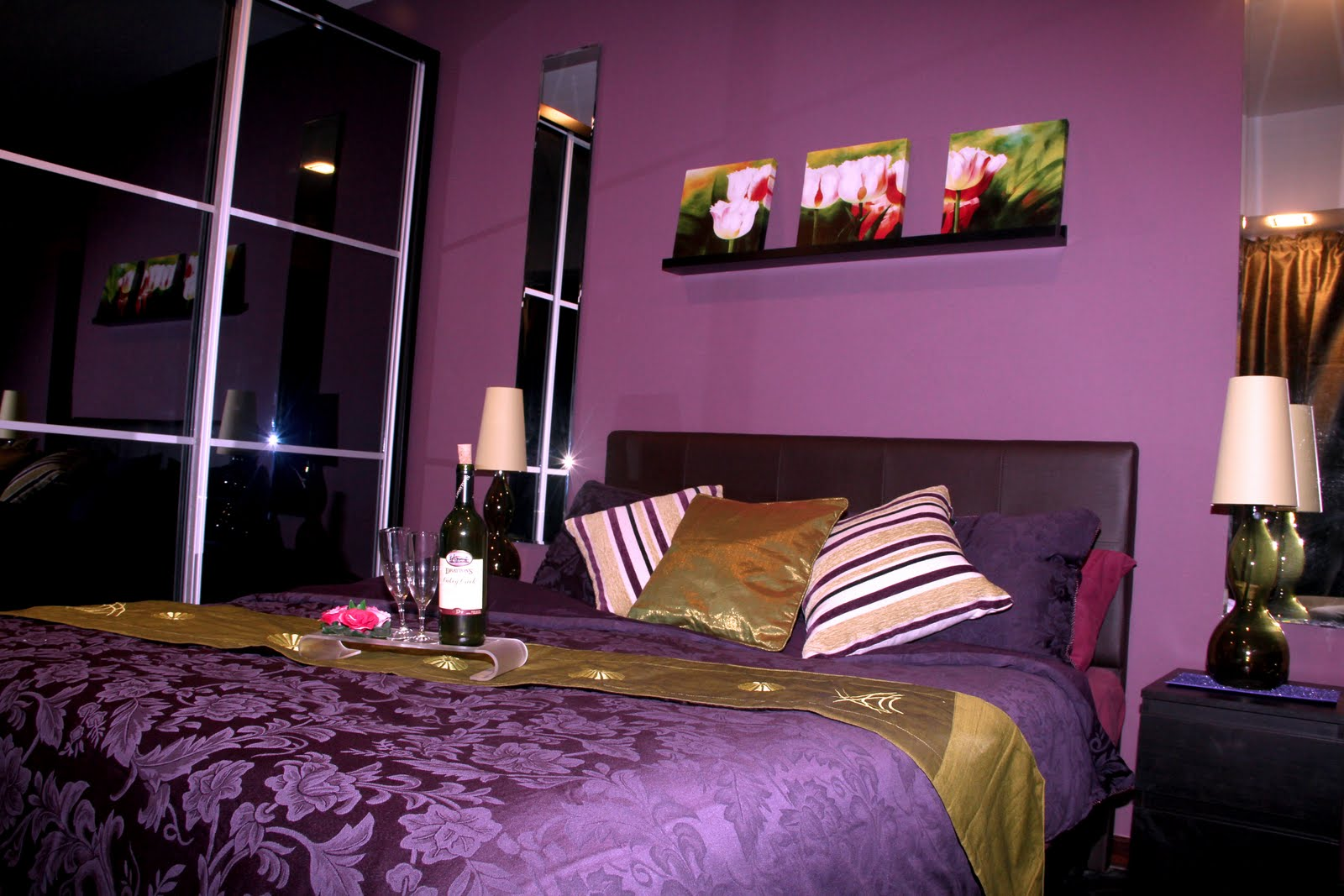 Purple Bedroom Ideas